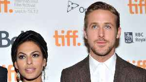 Eva Mendes and Ryan Gosling adopt rescue dog [Video]