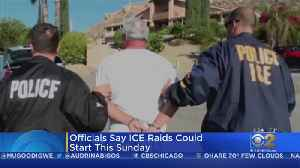 ICE Deportation Raids Expected To Begin Soon [Video]