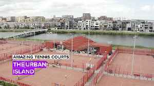 Amazing Tennis Courts: 'The Couch' of IJburg Tennis Club [Video]
