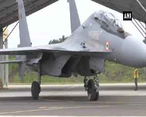 IAF's Sukhoi 30 flies with French Rafale during 'Garuda exercise [Video]