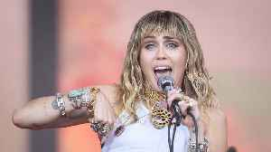 News video: Miley Cyrus had 'crazy' near-death experience on flight ahead of Glastonbury performance