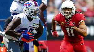 Whose longevity is more impressive: Buffalo Bills running back Frank Gore or Arizona Cardinals wide receiver Larry Fitzgerald? [Video]