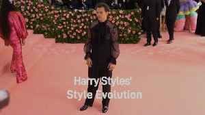 Harry Styles' Style Evolution [Video]