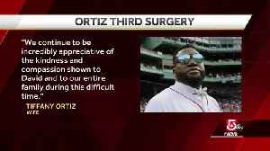 David Ortiz undergoes 3rd surgery after being shot [Video]