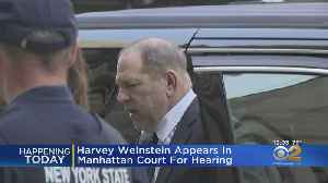 Harvey Weinstein Appears In Manhattan Court For Hearing [Video]
