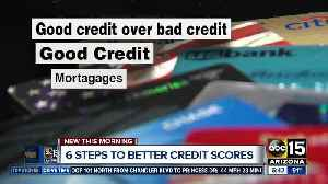 6 steps to a better credit score [Video]