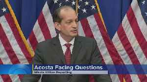 US Labor Secretary Alex Acosta Says He Won't Resign, Defends Role In Epstein Scandal [Video]