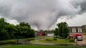 Tornado touches down in South Bend [Video]