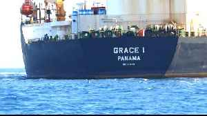 News video: Captain, chief officer of seized Iranian tanker arrested in Gibraltar