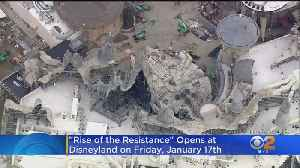 Disneyland's New 'Star Wars' Ride Of The Resistance Ride Gets Opening Date [Video]