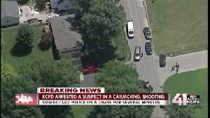 Police chase, arrest suspect in carjacking [Video]