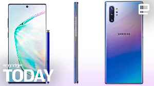 Galaxy Note 10 surfaces in leaked photo [Video]