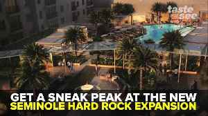 Here's a sneak peak at the new Seminole Hard Rock Expansion | Taste and See Tampa Bay [Video]