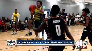 Mayor's Night Hoops continues to help keep kids out of trouble in KCMO [Video]