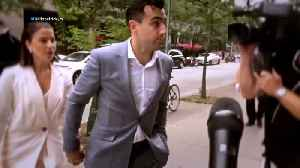 News video: Jacob Hoggard In Court Day 1