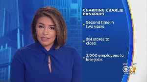 News video: Charming Charlie Goes Bankrupt, 14 North Texas Locations To Close