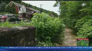 Road Collapse On Pitcairn Road [Video]