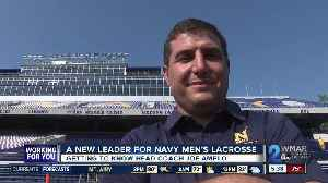 Amplo takes over at Naval Academy [Video]