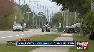 HCSO releases new list of future crossing guard locations for middle schools across the county [Video]