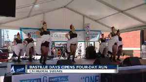 News video: Bastille Days opens with four day run