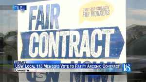 Arconic and USW Voting for New Contract [Video]