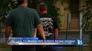 USW vote to ratify new contract with Arconic [Video]