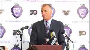 Holmgren steps down as Flyers President [Video]