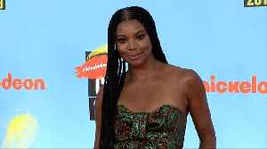 Gabrielle Union 'Kids' Choice Sports 2019' Orange Carpet [Video]