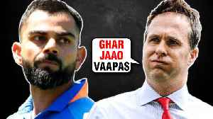 Michael Vaughan MAKES FUN Of Virat Kohli & Team India After Losing Against New Zealand [Video]