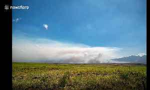 Hawaii evacuated as smoke rages in Maui brush fire [Video]