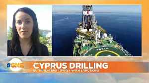 EU warns Turkey of sanctions if drilling off Cyprus continues [Video]