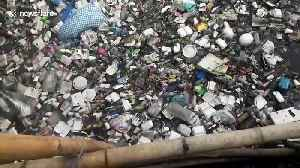 Philippines river clogged with plastic pollution finally gets cleaned by locals [Video]