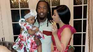 Cardi B shares rap she wrote for daughter Kulture [Video]