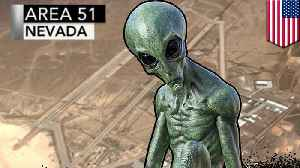 News video: 300,000 join event to storm Area 51 to 'see them aliens'