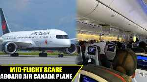 News video: Air canada flight hits intense turbulence