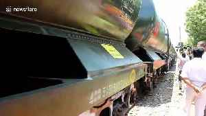 Indian authorities deploy water train to mitigate Chennai's ongoing drought [Video]