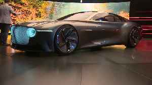 Bentley EXP 100 GT Concept Design Preview [Video]