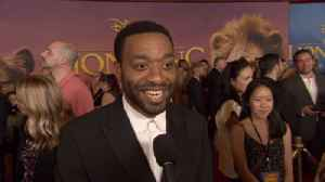 'The Lion King' World Premiere: Chiwetel Ejiofor [Video]