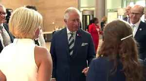 Prince Charles marks 100th anniversary of GCHQ [Video]