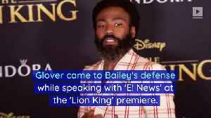 Donald Glover Defends Halle Bailey's Casting in 'The Little Mermaid' [Video]
