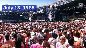 This Day in History: 'Live Aid' Concert Raises $127 Million for Famine Relief in Africa (Saturday, July 13) [Video]