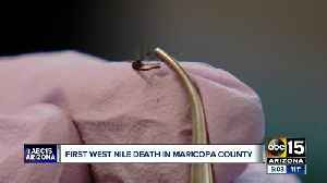 Maricopa County records its first West Nile death of 2019 [Video]