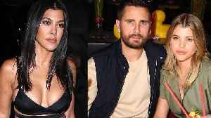 Sofia Richie REACTS To Fans BEGGING Scott Disick & Kourtney Kardashian To get Back Together! [Video]
