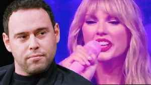 Taylor Swift Throws MAJOR SHADE At Scooter Braun During Amazon Prime Performance! [Video]