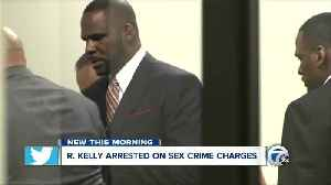 R. Kelly arrested on sex crime charges [Video]