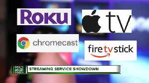 Don't Waste Your Money: Streaming service showdown [Video]
