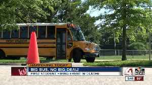 Hiring fairs in Olathe let you drive school bus [Video]