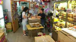 Hong Kong bakery does roaring trade in anti-extradition mooncakes [Video]