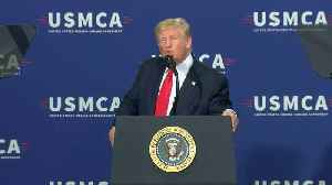 President Trump's comments from visit to Derco Aerospace Inc. in Milwaukee [Video]
