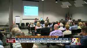 Covington presents three options to fill IRS site [Video]